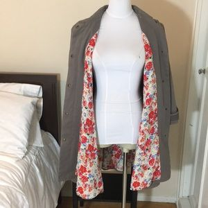 Rachel Roy gray Coat